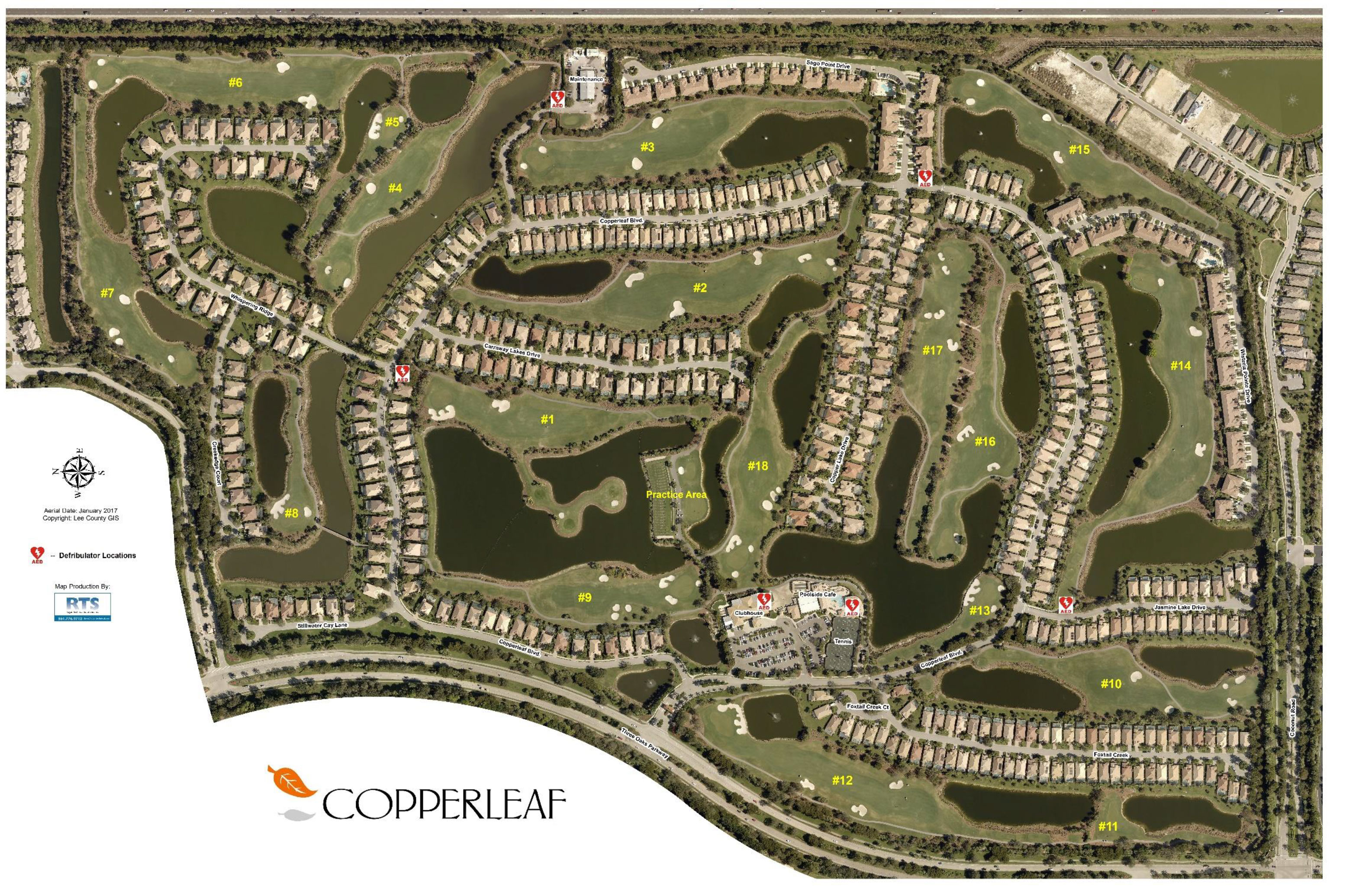 Copperleaf Map